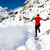 ludzi · turystyka · śniegu · szlak · zimą · wycieczka - zdjęcia stock © blasbike
