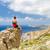 hiker or climber looking at inspirational ocean view stock photo © blasbike