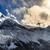 helikopter · bewolkt · hemel · winter · bergen · ski - stockfoto © blasbike