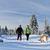 пару · походов · снега · зима · гор · человека - Сток-фото © blasbike