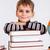 Cute schoolboy stock photo © bloodua