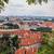 panorama · Prag · köprüler · yaz · gün - stok fotoğraf © bloodua