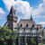 замок · город · Венгрия · кирпичных · небе - Сток-фото © bloodua