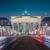 ブランデンブルグ門 · ベルリン · ドイツ · 有名な · 古い · 壁 - ストックフォト © bloodua