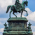 equestrian statue of king john of saxony in dresden germany stock photo © bloodua