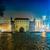 Polen · krakow · markt · vierkante · nacht · oude - stockfoto © bloodua