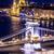 panoráma · Budapest · Magyarország · lánc · híd · folyó - stock fotó © bloodua
