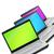 nyitva · laptopok · mutat · billentyűzet · képernyő · izolált - stock fotó © bloodua