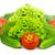 friss · zöldségek · izolált · fehér · levél · háttér · szín - stock fotó © bloodua