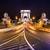 noite · ver · famoso · cadeia · ponte · Budapeste - foto stock © bloodua