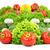 friss · gomba · champignon · izolált · fehér · étel - stock fotó © bloodua