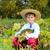 1930 · rolnik · uśmiechnięty · słońce - zdjęcia stock © bloodua