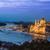 panorama · Boedapest · Hongarije · keten · brug · rivier - stockfoto © bloodua