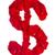 Rood · bloemblaadjes · steeg · witte · alfabet - stockfoto © bloodua