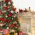 Рождества · сцена · дерево · огня · подарки · домой - Сток-фото © bloodua