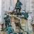 avcılık · heykel · kraliyet · saray · Budapeşte · bahar - stok fotoğraf © bloodua