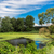 パノラマ · 夏 · 午前 · 湖 · 緑 · 木 - ストックフォト © bloodua