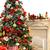 bianco · rosso · Natale · camino · interni · stile · moderno - foto d'archivio © bloodua
