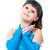 肖像 · かわいい · 笑みを浮かべて · 女の子 · 王女 · ドレス - ストックフォト © bloodua