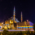 mecset · Isztambul · városkép · domb · Törökország · épület - stock fotó © bloodua