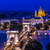 panorama of budapest hungary with the chain bridge and the par stock photo © bloodua
