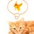 gato · jogar · isolado · branco · peixe · natureza - foto stock © bloodua