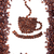 koffie · koffiekopje · bonen · witte · chocolade · energie - stockfoto © bloodua