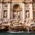 trevifontein · Rome · Italië · nacht · afbeelding · Blauw - stockfoto © bloodua