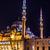 kilátás · mecset · Isztambul · Törökország · bent · épület - stock fotó © bloodua
