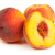 three perfect ripe peaches with a half and slices isolated on stock photo © bloodua