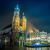 Polonya · krakow · pazar · kare · gece · eski - stok fotoğraf © bloodua