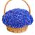 beautiful blue cornflowers in a basket stock photo © bloodua