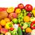 csoport · friss · zöldségek · izolált · fehér · levél · gyümölcs - stock fotó © bloodua