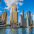 dubai marina cityscape uae stock photo © bloodua