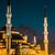 Isztambul · éjszaka · sziluett · híd · arany · duda - stock fotó © bloodua