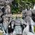 lovas · szobor · tér · Ukrajna · szobrász · ló - stock fotó © bloodua
