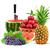 színes · egészséges · friss · gyümölcs · lövés · stúdió · étel - stock fotó © bloodua