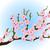 stijl · schilderij · pruim · bloesem · voorjaar - stockfoto © blotty