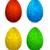 paskalya · yumurtası · Paskalya · bahar · dizayn · boya · mavi - stok fotoğraf © blotty