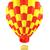 hot air balloon isolated on white stock photo © blotty