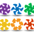 swirl · variatie · naadloos · herhalen · ontwerp · Blauw - stockfoto © blotty