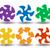 ingesteld · gekleurd · gestreept · textuur · abstract - stockfoto © blotty
