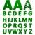cute · 3D · Alphabet · Blumen · Schule · Kind - stock foto © blotty