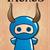 zodiac sign taurus with cute black ninja character vector stock photo © bluelela