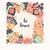 cartão · postal · projeto · inspirado · citar · boêmio · colorido - foto stock © bluelela