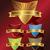 colección · vintage · retro · insignias · sellos - foto stock © bluelela