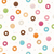 Seamless pattern with colorful tasty glossy donuts stock photo © BlueLela