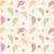 seamless pattern with hand drawn leaves with line patterns stock photo © bluelela