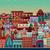 set · scena · urbana · illustrazione · cielo · casa · costruzione - foto d'archivio © bluelela