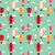 background with hot air balloons seamless pattern stock photo © bluelela